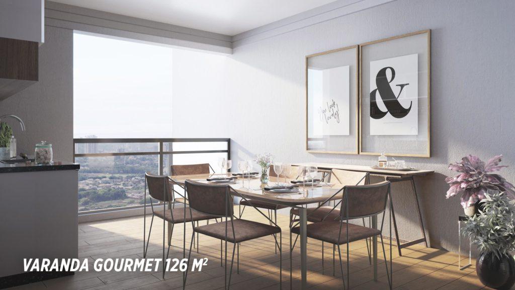 Varanda Gourmet 126m2_Colina do Ipê