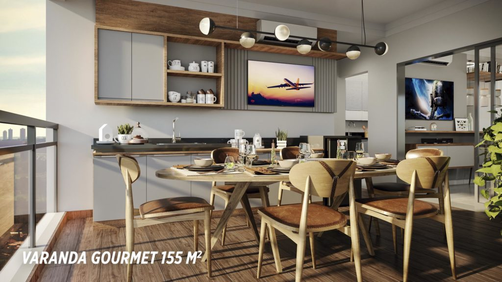 Varanda Gourmet 155m2_Colina do Ipê